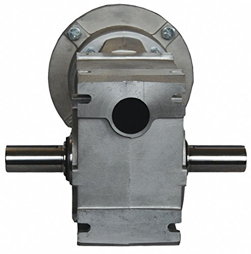 Aluminum Right Angle Speed Reducer, Universal, 405 lb. Overhung Load by Nord