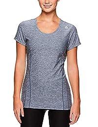 Reebok Women's Dynamic Fitted Performance Short Sleeve T-Shirt