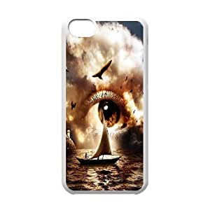 Cloud Series, IPhone 5C Cases, Eyes Cloud Ship Cases for IPhone 5C [White]