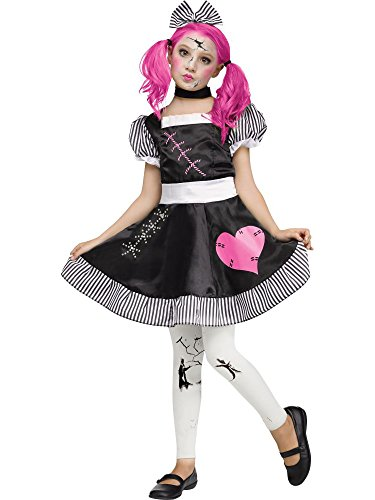 Broken Doll Kids Costume (Broken Doll Halloween Costumes)