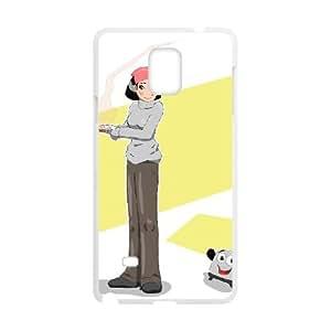 Jjiu Brave Little Toaster Samsung Galaxy Note 4 Cell Phone Case White