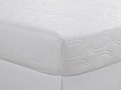 Sleep Protection Mattress Pad with Expel Epa Registered Bedbug Eliminating Technology, Queen, White