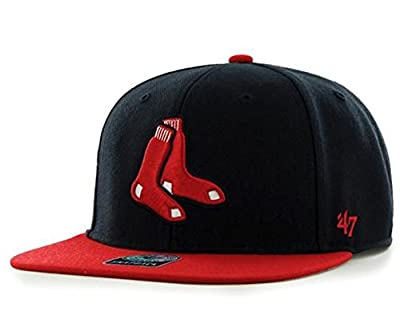 47 Brand Boston Red Sox Two-Toned Sure Shot Mens Snapback Hat