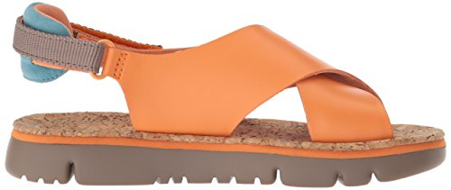 Camper Womens Oruga K200157 Sandalo Flat, Orange, 39 M Eu (9 Us)