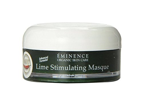 Eminence Organic Skincare Lime Stimulating Treatment Masque, 2 Fluid Ounce