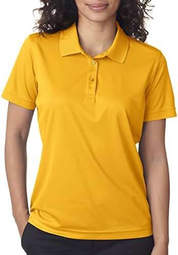 UltraClub 8210L Ladies' Cool & Dry Mesh Pique Polo Shirt