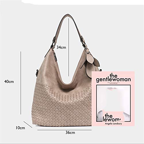 Large Women's Plain Plain High Quality Handbag Leather Tan Size Women's 4E4YRdqnr