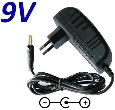 Cargador Corriente 9V Reemplazo Televisor TV BLU:SENS Blusens POPTV7P Recambio Replacement: Amazon.es: Electrónica