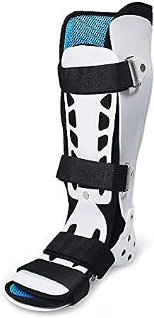 ZHAS Órtesis de pie Férulas de Tobillo, articulación de Tobillo Férula Fija Protector ortopédico 'S Protector de Tobillo Miembro Inferior Zapatos de rehabilitación de Fractura de pie, pie izquier