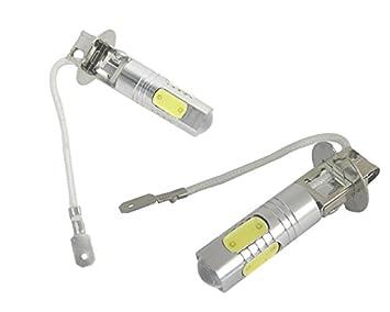 Unipower TMT LEDS(TM) 2 X BOMBILLAS LED COCHE H3 11W ANTINIEBLA CREE ALTA POTENCIA BLANCO: Amazon.es: Coche y moto