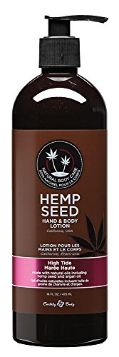 Earthly Body Hemp Seed Hand and Body Lotion, High Tide, 16 Oz. ()