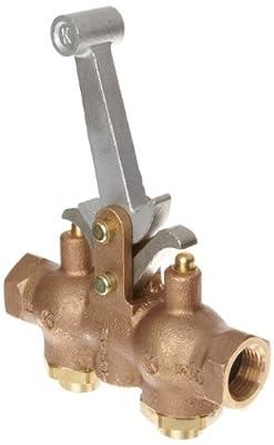 """Kingston 303 Series Brass Hoist Control Valve, 1/2"""" NPT Female from Kingston Valves"""