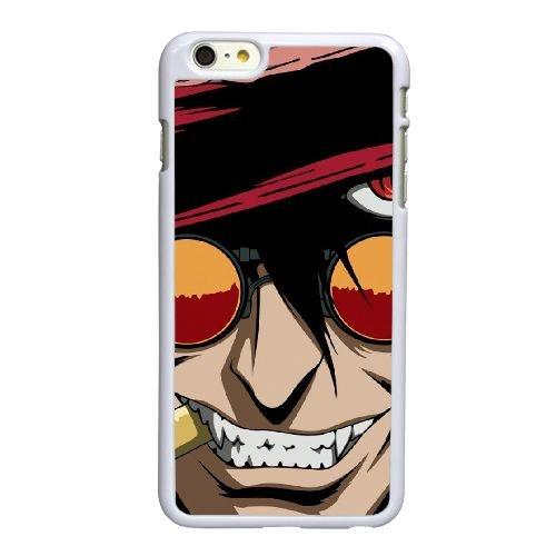 R2G79 Hellsing Alucard V5T7XQ coque iPhone 6 Plus de 5,5 pouces cas de couverture de téléphone portable coque blanche WY5WRQ0ON