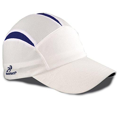 Headsweats Performance Sport Go Hat (White & Navy)
