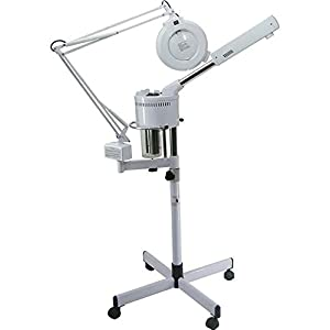 BR Beauty 2 in 1 Ozone Facial Steamer with Magnifying Lamp