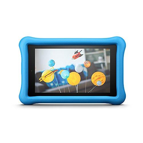 Amazon FreeTime - Funda infantil para Fire HD 8 (tablet de 8 pulgadas, 7ª y 8ª generación, modelos de 2017 y 2018), Azul
