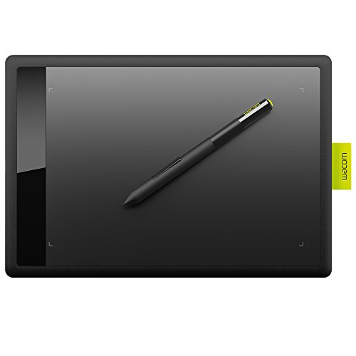 Wacom One Grafiktablett schwarz Medium