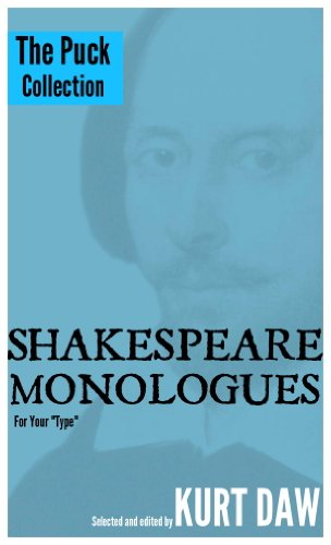 10 Terrific Shakespeare Monologues for Children, Tween and Teen Boys: The