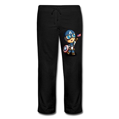 Wesley Captain Boy Women's Fashion Yoga Pant Black XL