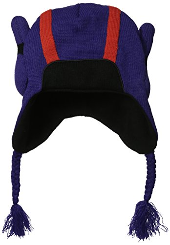 Concept One Little Boys' Big Hero 6 Knit Hat, Purple, One Si