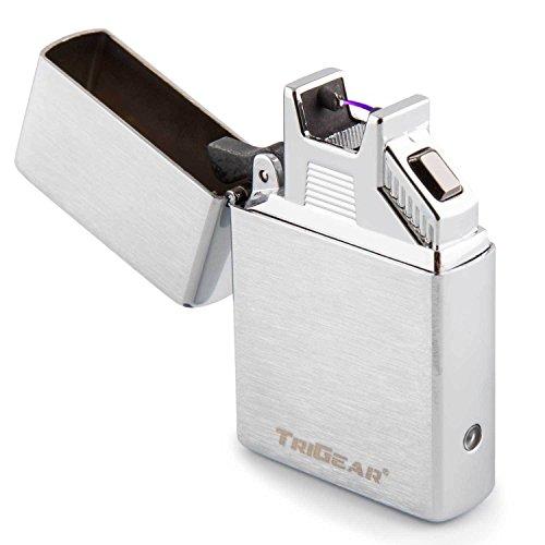TriGear Elite Series Arc Lighter - Silver