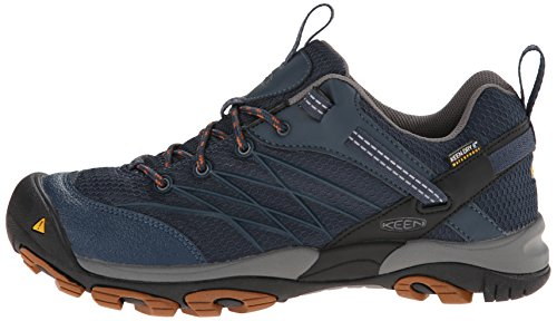870a0826f64 KEEN Men's Marshall Waterproof Hiking Shoe, Midnight - Import It All