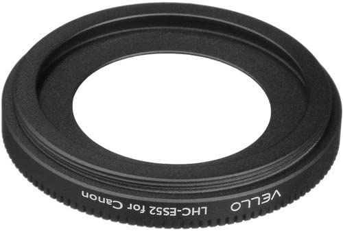 Vello LHC-ES52 Dedicated Lens Hood 2 Pack