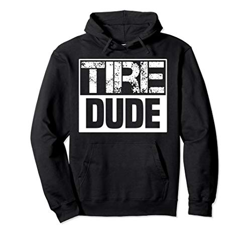 Tire Dude funny Car Mechanic Costume Gift Hoodie