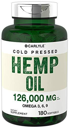 Hemp Oil Capsules 126000