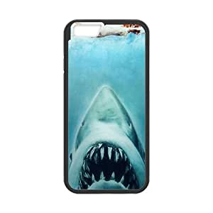 Jaws iPhone 6 Plus 5.5 Inch Cell Phone Case Black WNW