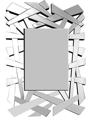 Specchi Moderni Da Parete.E Line Specchio Moderno Da Parete Scaglie 80x120 Cm Amazon It Casa