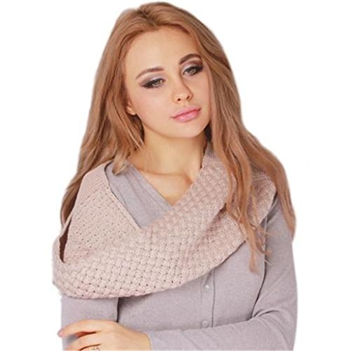 GUAngqi Winter Knitted Circle Scarves