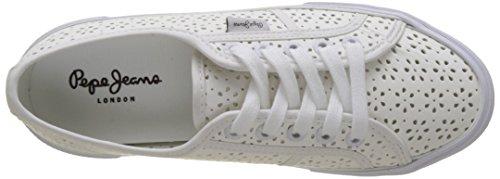 Pepe Jeans Signore Aberlady Sneaker Margherita Bianca (bianco)