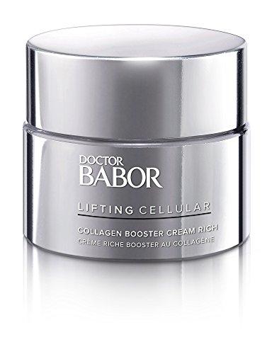BABOR DOCTOR LIFTING CELLULAR Collagen Booster Cream rich, reichhaltige & straffende Gesichtspflegecreme, ideal auch als Nachtcreme, 50ml