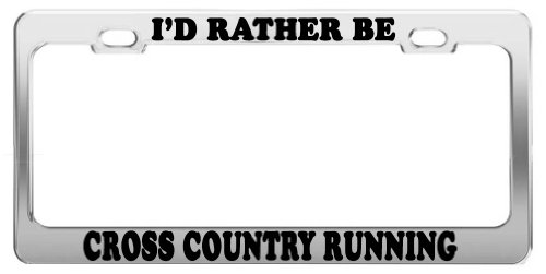 cross country license plate frame - 5