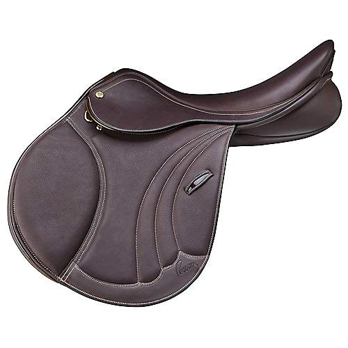 (Pessoa Tomboy II Covered Leather Saddle 17.5)