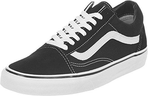 Vans U Old Skool - Zapatillas, Unisex Adulto negro blanco