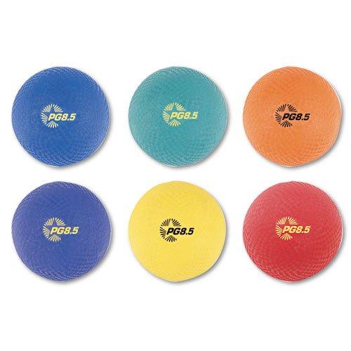 Champion Sports - Playground Ball Set, Nylon, Assorted
