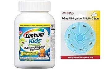 Suplemento de multivitaminas/multiminerales Centrum Kids (cereza, naranja y sabor de ponche de
