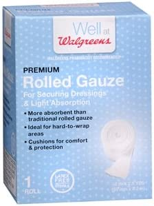 Amazon Com Walgreens Premium Rolled Gauze 2 Inch 2 5 Yd Health