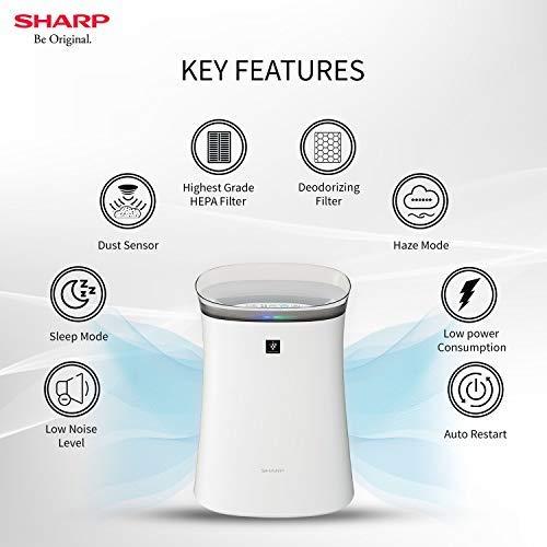 Sharp Air Purifier F40E-W review
