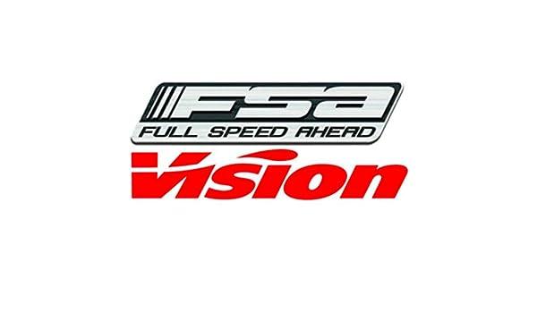 752-1269 FSA Vision Metron Bicycle Disc Wheel//Valve Cover Sticker//Decal Set