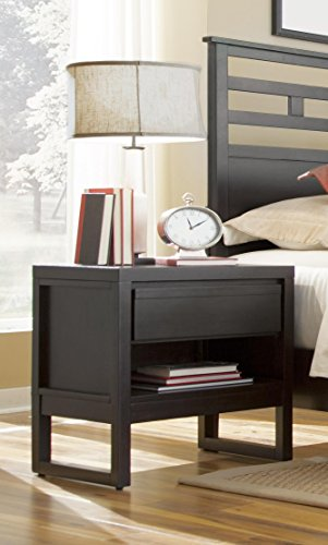 Progressive Furniture Nightstand in Dark Chocolate Finish