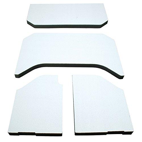 Price comparison product image Design Engineering 050141 Boom Mat Sound Deadening Headliner for 4-Door Jeep Wrangler JK (2011-2018) - White