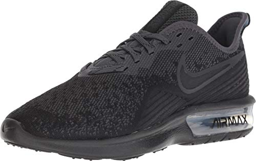 Nike Women's Air Max Sequent 4 Running Shoe Black/Anthracite Size 7.5 M US