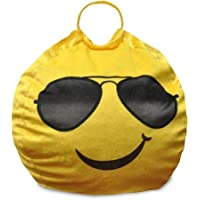 Emoji Pals Cool Shades Mini Bean Bag with Handle Toddler sized (WK656300)