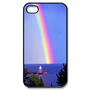 CHENGUOHONG Phone CaseColorful Rainbow Art Design For Iphone 4 4S case cover -PATTERN-17