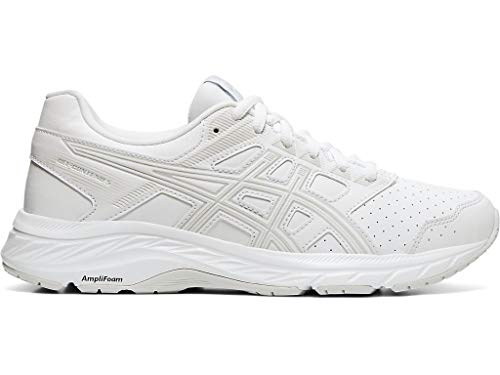 powerful ASICS Women's Gel-Contend 5 Walker Walking Shoes, 8.5M, White/Glacier Grey