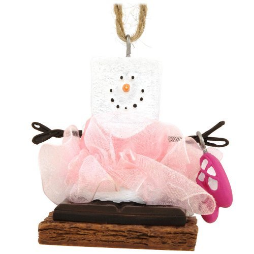 - S'mores Ballerina with Shoes Resin Christmas Ornament by Midwest-CBK