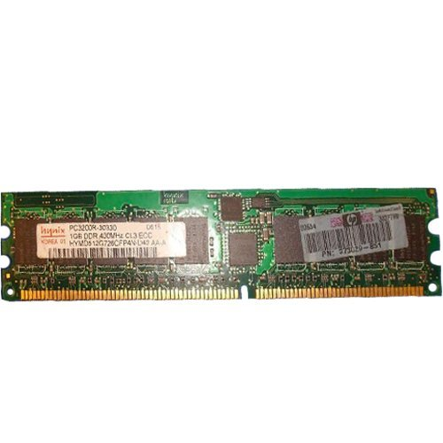 - Hynix 1gb Ddr Pc-3200 400mhz Ecc Registered Cl3 2.6v Single Rank 184p